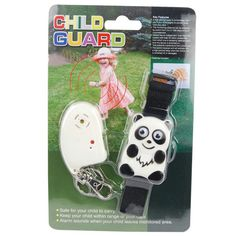 Child Guard Panda Child Protection Anti-Wander Alarm With Transmitter & Receiver Personal Security, Personal Safety, Baby Safety, Child Safety, Home Protection, Gps Tracking, Precious Children, The Ordinary, Your Child