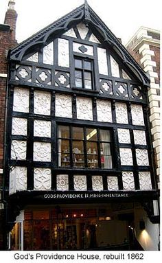 Providence House, Chester Cathedral, Chester City, Interesting Buildings, Dream House Exterior, Art And Architecture, Tudor, London England, Liverpool