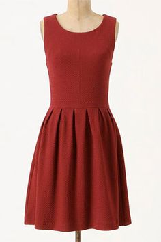 Oh Anthropologie...I love you.  With a cardigan, I could rock this dress ;)
