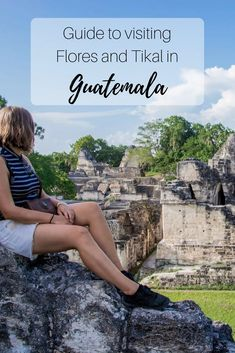 Tikal, the legendary Maya village should be on everyone's itinerary. Even though its one of the most popular destinations in Guatemala, we barely saw any other tourists while we were there. Read everything on Flores and Tikal in this guide.