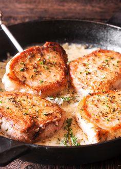 Creamy Pork Chops [keto]