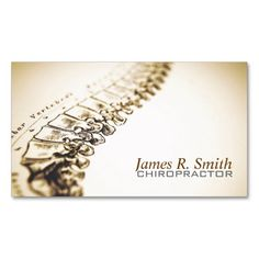 Chiropractic Clinic Business Card / Health