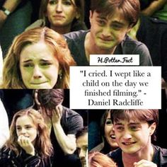 I also cried,wept like a child when I finished the book Young Harry Potter, Harry Potter Facts, Harry Potter Quotes, Harry Potter Love, Harry Potter Universal, Harry Potter Fandom, Harry Potter World, Harry Potter Hogwarts, Emoji