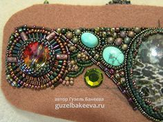 Very detail tutorial how to make bead embroidered cuff