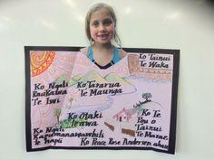 Pepeha idea Classroom Setting, Classroom Displays, Classroom Decor, Maori Legends, Waitangi Day, Maori Symbols, Matou, Maori Art, School Resources