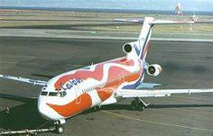 "CALDER'S ""Braniff"" Boeing 727-200"