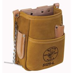 This great all-purpose tool pouch offers lots of pockets for a variety of tools. Compact and portable so you only have to carry the tools you need for the job you are doing that day. Fits easily on most belt widths. Durable construction for long life. Stitching Leather, Leather Tooling, Lineman Tools, Leather Tool Pouches, Klein Tools, Canvas Leather, Bags, Purpose, Life Color