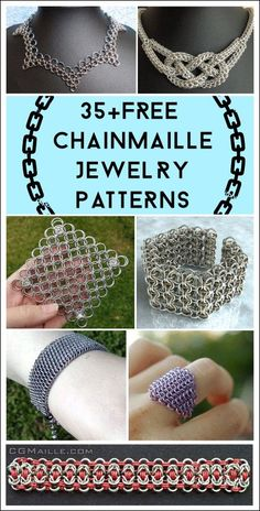This simple knot design is easy enough for jewelry makers of all abilities to be successfully created. Because the design is very easy to make, you can pair the color of the rainbow in no time. Follow the simple instructions chainmaille jewelery earrings to create your own rantaimail. We have put together a variety of Chain Maille Jewelry ideas, Free to inspire you and so you can create your own beautiful chain chain according to what you want. #chainmailledesigns #chainmailjewelry…