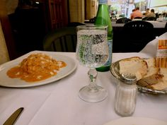 Lunch at cafe, off the Via del Corso (Rome)