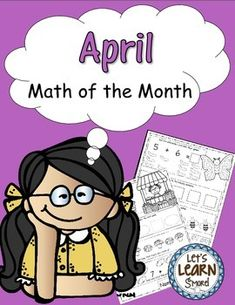 April: April Math of the Month, Easter Fun, Bugs, Farm, April Showers, and Vegetable Gardening are the themes on these pages. Math Worksheets, Math, Adding, Subtracting, Comparing, Positions, Word ProblemsIncludes two bonus Easter pages for the Christian classroom.