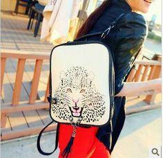frete grátis 2013 preppy estilo personalizadoimpressão casual vintage branco mochila bolsa feminina malas
