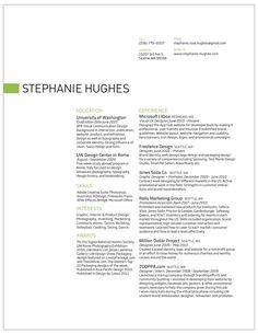 love this resume white space really works even though there is a lot of text - Text Resume