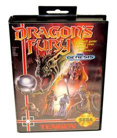 Dragons Fury (Sega Genesis, 1992)  (Cleaned Pins - LOOKS & WORKS GREAT)   http://www.ebay.com/itm/XMEN-2-Clone-Wars-Sega-Genesis-1992-Cleaned-Pins-LOOKS-amp-WORKS-GREAT-/301533965948?