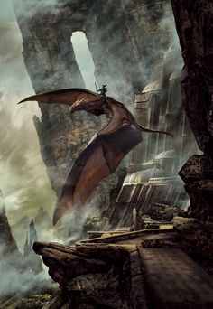 Stephan Martinière - Cover art for Dragondrums: A Harper Hall of Pern Novel by Anne McCaffrey, 2015