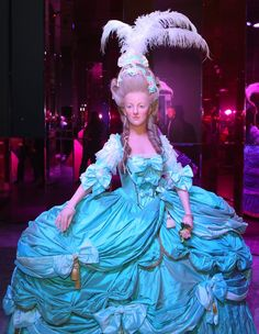 An extraordinary wax sculpture of Marie Antoinette found at the Musée Grévin.