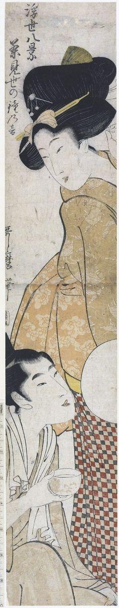 Utamaro Kitigawa / Cha-mise no kane no oto