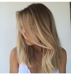natural, long blonde hair, golden highlights. Trending hair style. Keep your hair beautiful with @emeraldforestus sulfate free shampoo & conditioner products.