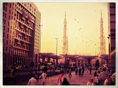Madinah, at dawn.
