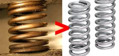 DID YOU KNOW? A compressed spring weighs more than a relaxed one: | Can You Make It Through This Post Without Having Your Mind Blown?