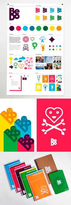 visual identity / bedo  Color and illustration in system design