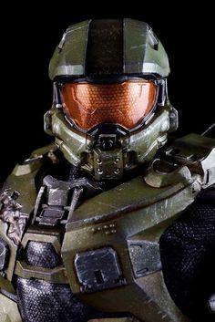 toyhaven: Pre-order ThreeA Toys HALO 4 Master Chief Spartan Mark IV Sixth Scale Figure inches) Halo Master Chief Helmet, Master Chief Costume, Master Chief And Cortana, Halo Game, Halo 5, Casco Halo, Master Chief Petty Officer, Halo Cosplay, Halo Spartan