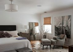 West Chester, NY - transitional - bedroom - new york - by indi interiors