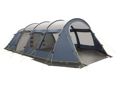 Familietent 6 persoons dome style expedition blauw beige