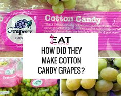 How Did They Make Grapes That Taste Like Cotton Candy? There are non-GMO. Cotton Candy Grapes, Cotton Candy Flavoring, Weird Food, Earthy, Cantaloupe, Food And Drink, Fruit, Foods, Food Food