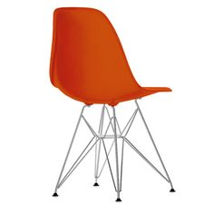 Charles   Ray Eames Plastic Side Chair   Eames Plastic Side Chair is a  contemporary version of the legendary Fiberglass Chair Charles   Ray Eames  DCW Dining Chair Wood  1946  1  Serie  . Eames Dsw Dsr Dss Faux Leather Seat Pad. Home Design Ideas