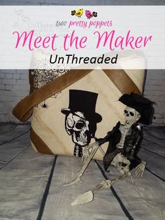 Meet the Maker: UnThreaded - Andrie Designs Paper and PDF bag patterns Handmade bags Bag Patterns, Handmade Bags, Bag Making, Pdf, Meet, Halloween, Paper, Pretty, Design