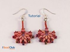 Fantail Earrings Tutorial by TheBeadClubLounge on Etsy