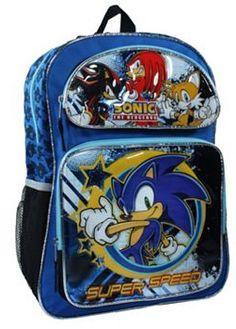 Sonic the Hedgehog Backpack - Kids