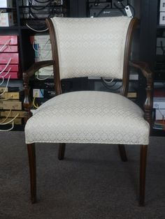 JENSO Upholstering Inc rewarded 10 years consecutively by Oakville.....we also refinish the wood.
