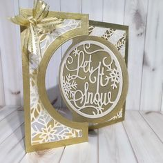 Created by Colleen Tyler Create-A Card Sparkling Snowflakes #crafterscompanion