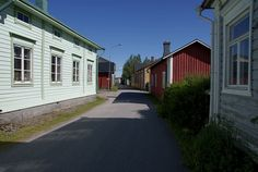 Kristiinankaupunki, Ostrobothnia province of Western Finland.- Pohjanmaa - Österbotten