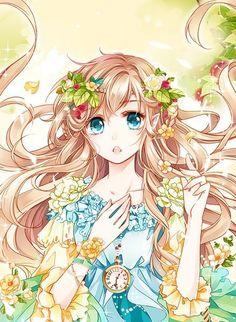 Cute anime girl *-*