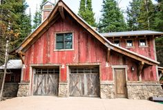 House in Deer Valley, Utah - rustic - garage and shed - other metro - Trestlewood