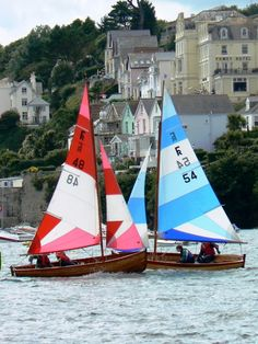 Fowey - Hotel Tresanton provides a perfect base from which to explore other coastal towns and villages, notably the sailing center of Fowey. The Places Youll Go, Places To Go, Reason To Breathe, Dinghy, Sail Away, Set Sail, Wooden Boats, Wooden Sailboat, Small Boats
