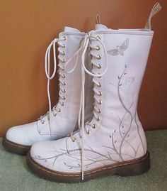 Awesome moth doc marten boots