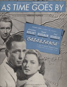 1940s As Time Goes By from 'Casablanca' Voice by PacificBlueBooks, $12.00