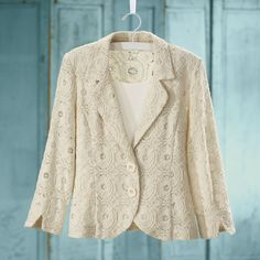 Vintage Look Lace Jacket - Women's Clothing, Jewelry, Fashion Accessories and Gifts for Women with a Flair of the Outdoors | NorthStyle