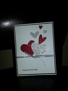 Stampin' Up! Valentine's Day card: