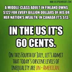 The vast majority of America's wealth is in the hands of a very few. Some of that wealth was used to purchase republicans in congress resulting in the wealthy paying a far less percentage in taxes than a bus driver for example.