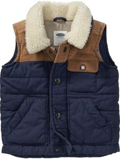 Cord-Yoke Vest for Baby Product Image
