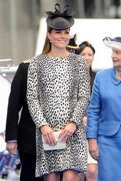 The Duchess of Cambridge arrives at the Royal Princess naming ceremony. #RoyalPrincess #Christening #PrincessCruises #DuchessKate