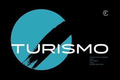 Turismo CF Modern Font by Connary Fagen Type Design on @creativemarket