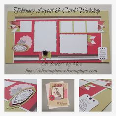 February Ivy Lane Layout and Foxy Card Workshop