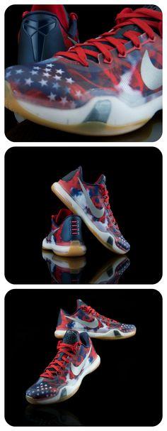 The patriotic Nike Kobe 10s drops Saturday!