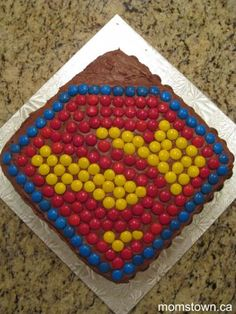 Super Hero Birthday Party! | momstown arts and crafts