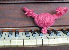 I wish MY uterus could play the piano.